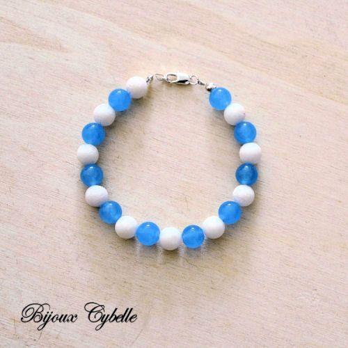 Aigue marine bracelet