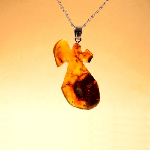 Pendentif en ambre de la baltique