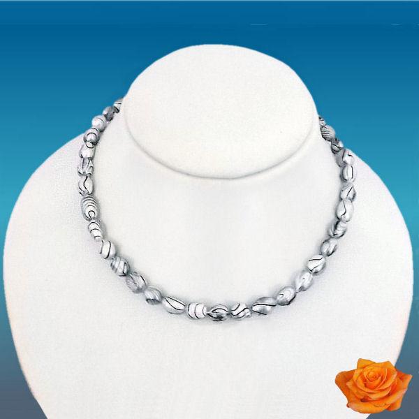 Collier perles de culture baroques