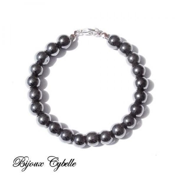 Hématite. bracelet
