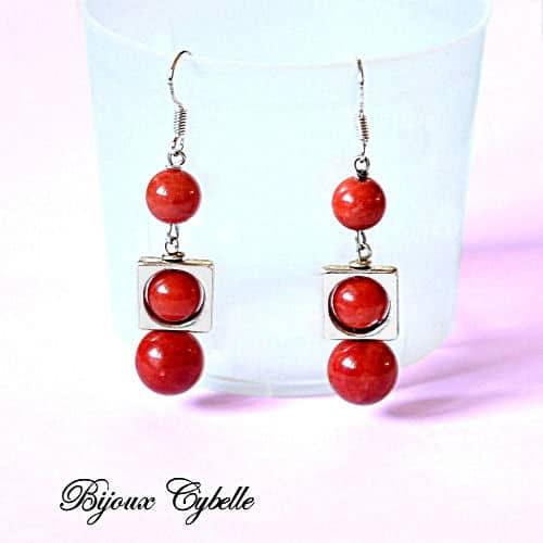Jaspe rouge bracelet