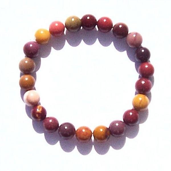 Jaspe Mookaite bracelet