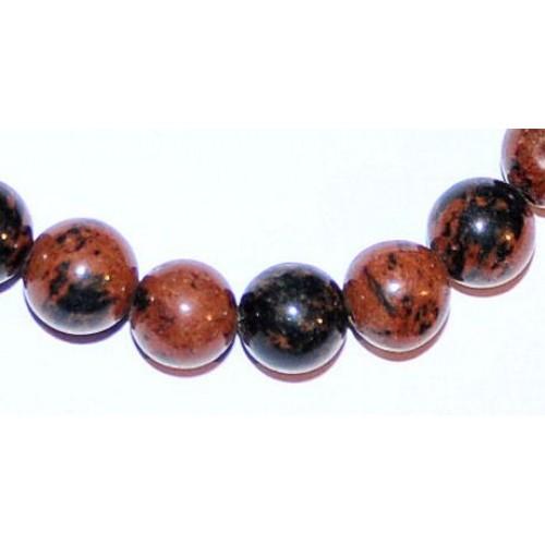 Obsidienne acajou bracelet