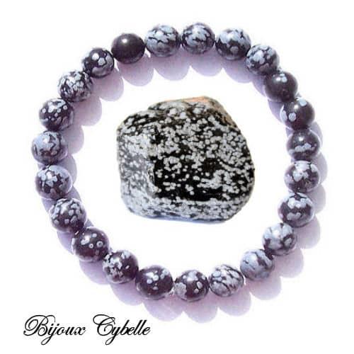 Obsidienne bracelet