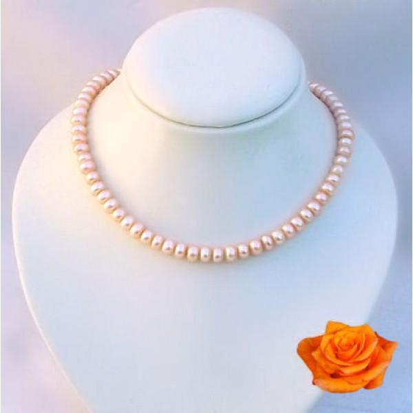 Perles de culture - Perles roses