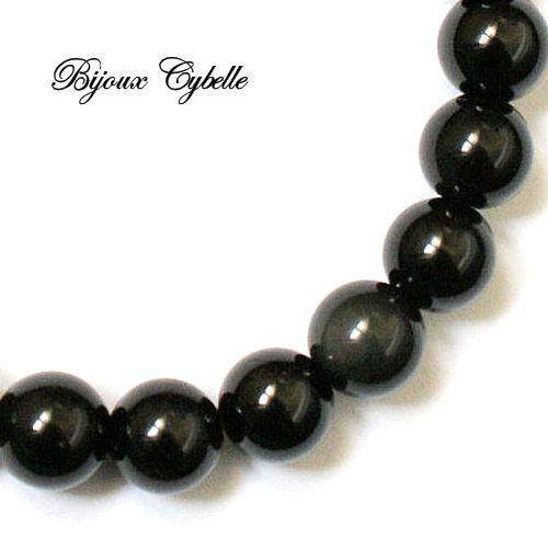 Tourmaline noire bracelet